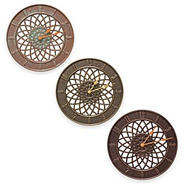 Whitehall Products Spiral Wall Clock