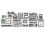 WallVerbs® 22-Piece  Family Is  Photo Frame Set