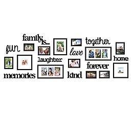 "WallVerbs® 22-Piece ""Family Is"" Photo Frame Set"