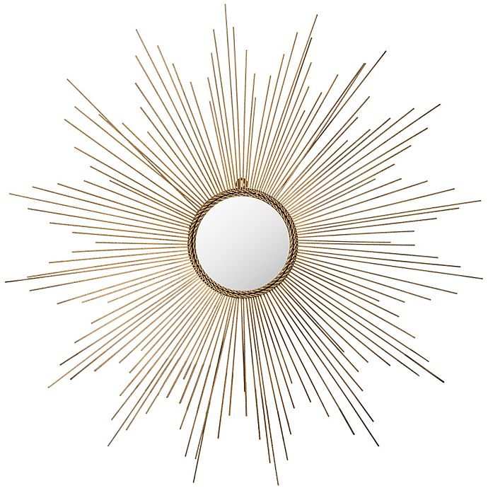 Alternate image 1 for Safavieh Marinda Mirror in Gold