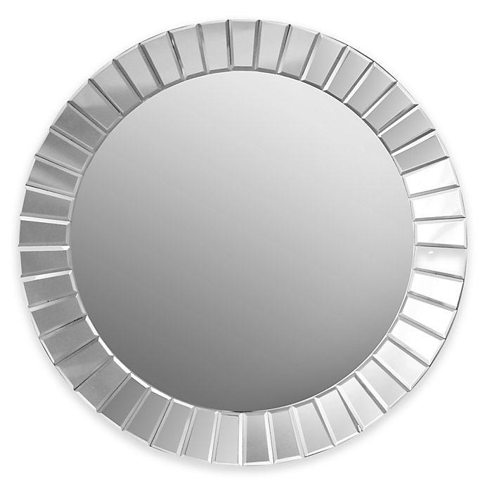 Alternate image 1 for Abbyson Living® Santorini 35.5-Inch Round Wall Mirror