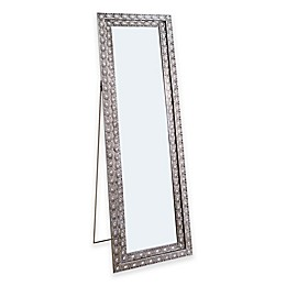 Abbyson Living® Melania 20.5-Inch x 63.5-Inch Rectangular Floor Mirror in Silver/Glass