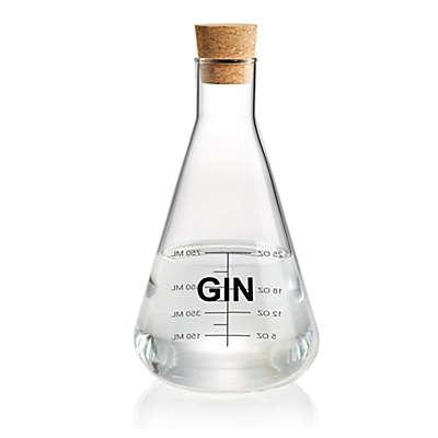 "Artland® Mixology Glass 40 oz. ""Gin"" Chemistry Flask Decanter"