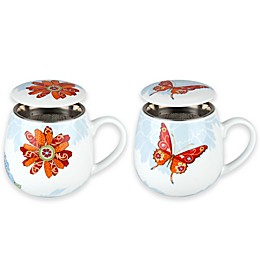 Konitz Butterfly and Blossom Mug Collection