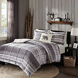Woolrich® Anderson Comforter Set in Grey