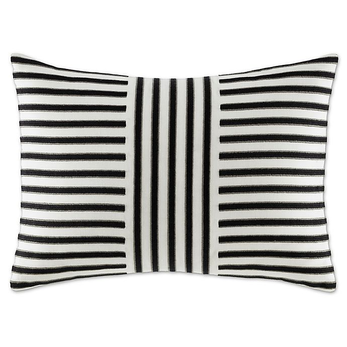 Wedgwood 174 Vibrance Thin Striped Oblong Throw Pillow In