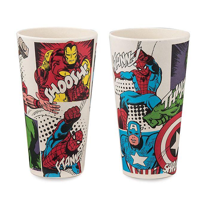 Alternate image 1 for Marvel® Comics 24 oz. Superhero Tumbler (Set of 2)