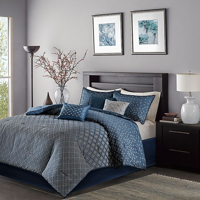 Alternate image 1 for Madison Park Biloxi 7-Piece Comforter Set