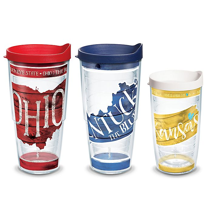 Alternate image 1 for Tervis® American Pride State Tumblers with Lid