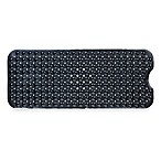 Extra Long Deluxe 16-Inch by 39-Inch Bath Mat in Black
