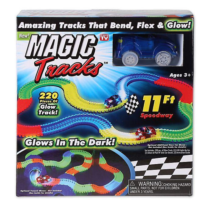 Alternate image 1 for Magic Tracks™ 220-Piece Glowing Track Set