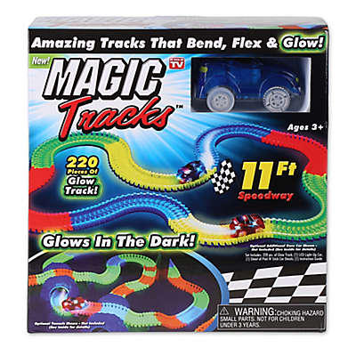 Magic Tracks™ 220-Piece Glowing Track Set