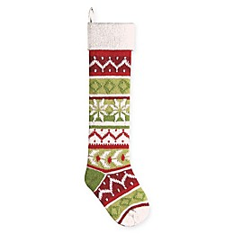 Knit 28-Inch Christmas Stocking