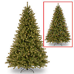 Feel Real® 7.5-Foot Lakewood Spruce Pre-Lit Christmas Tree with 700 Dual LED Lights