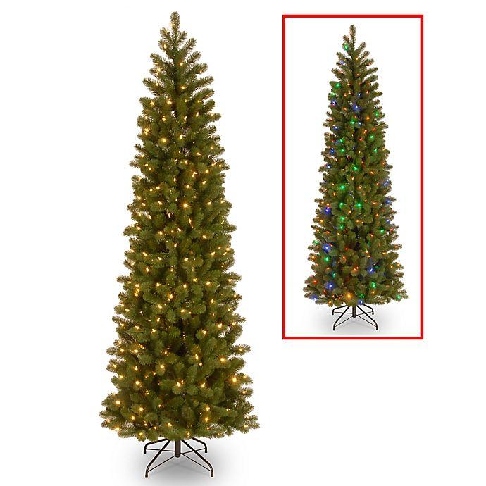 National Tree Company 75 Foot Downswept Douglas Fir Pencil Slim