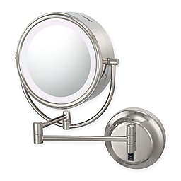 Kimball & Young Neomodern 1x/5xRound Magnifying Mirror