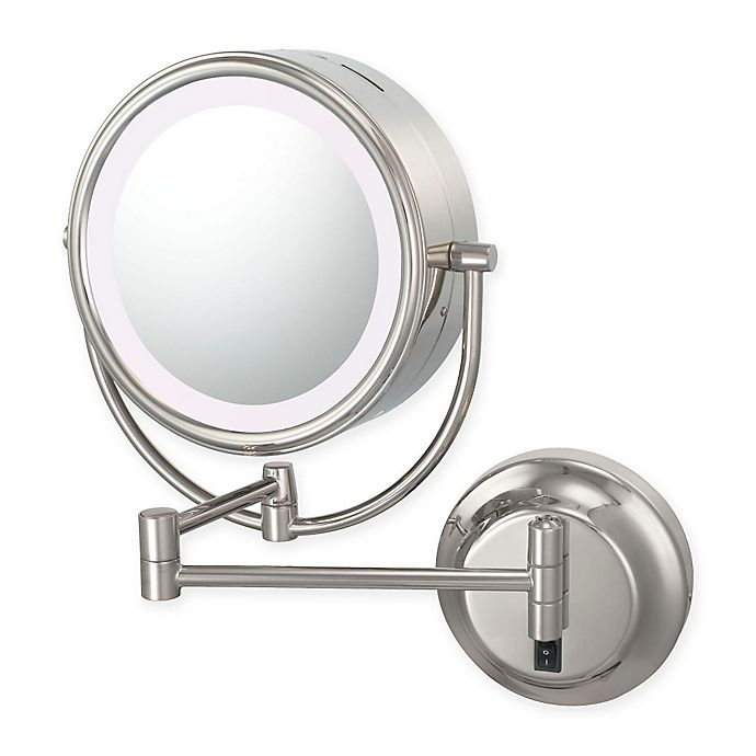 Alternate image 1 for Kimball & Young  Neomodern 1x/5x Magnifying Mirror in Chrome
