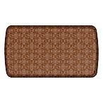 GelPro® Elite Decorator Damask 20-Inch x 36-Inch Kitchen Mat in Nutmeg