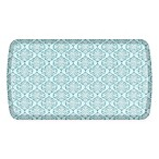 GelPro® Elite Decorator Damask 20-Inch x 36-Inch Kitchen Mat in Lagoon