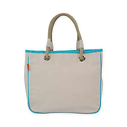 CB Station 12-Inch Rope Tote in Turquoise