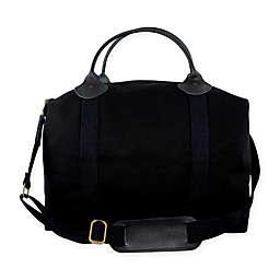 CB Station Color Weekender Bag in Solid Black
