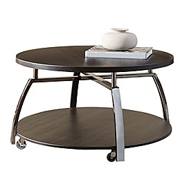 Steve Silver Co Coham Cocktail Table in Dark Brown