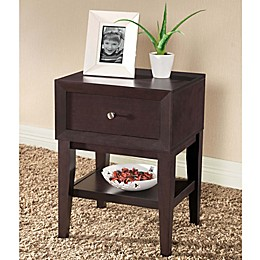 Baxton Studio Gaston Nightstand