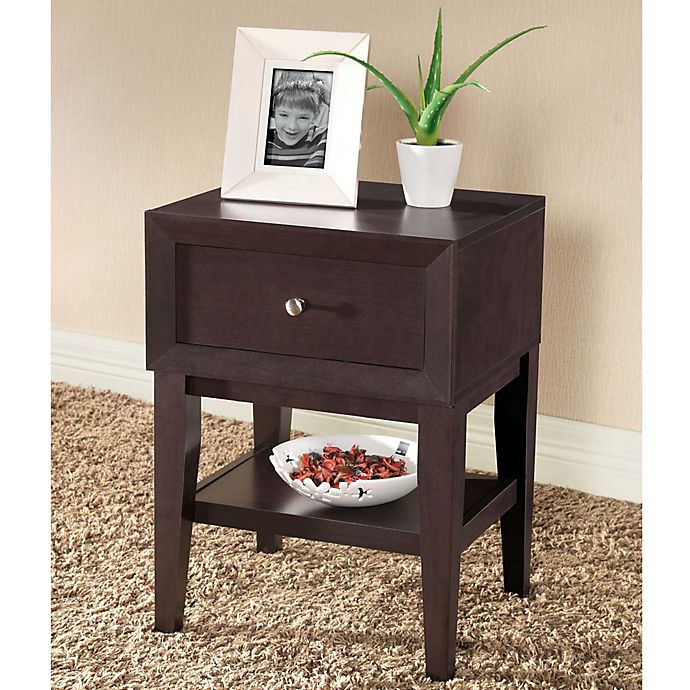 Alternate image 1 for Baxton Studio Gaston Nightstand
