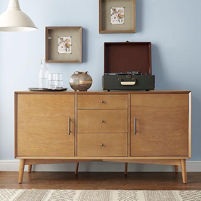 Alternate image 1 for Crosley Landon Mid-Century Modern Style Buffet
