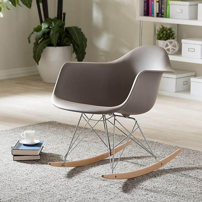 Fabulous Baxton Studio Dario Rocking Chair Bed Bath Beyond Forskolin Free Trial Chair Design Images Forskolin Free Trialorg