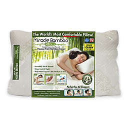 Miracle Bamboo Deluxe Pillow with Viscose from Bamboo Cover