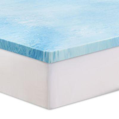 Serta 174 3 Inch Gel Swirl Memory Foam Mattress Topper Bed