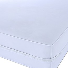 Clean Living Polyester Microfiber Stain and Water Resistant Twin Mattress Protector