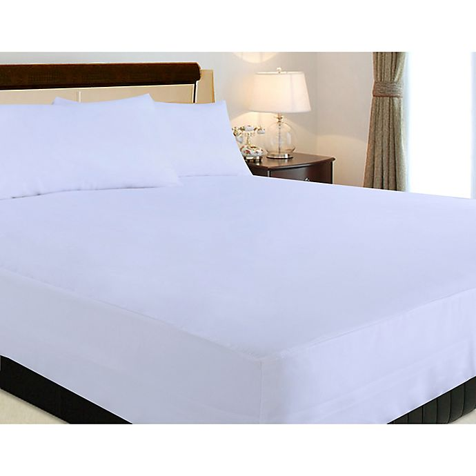 Alternate image 1 for Clean Living Nanofibre Stain and Water Resistant Twin Mattress Protector Set