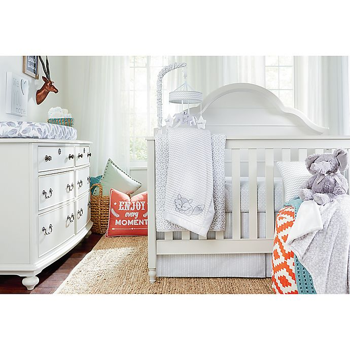 Alternate image 1 for Wendy Bellissimo™ Unisex Mix & Match Crib Bedding Collection in Grey/Navy