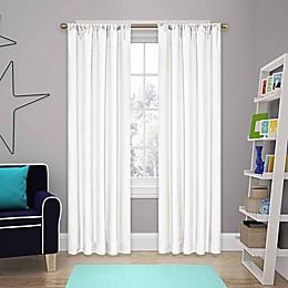Eclipse Kendall Rod Pocket Room Darkening Window Curtain Panel and Valance