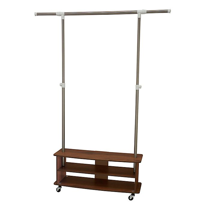 Alternate image 1 for Household Essentials® Shoe Cubby Garment Rack