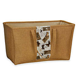 Household Essentials® Soft-Side Burlap Container