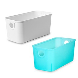 11-Inch Plastic Quarter Bin