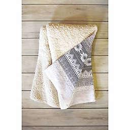 Deny Designs 80-Inch x 60-Inch Iveta Abolina Sunset Valley Fleece Throw Blanket in Pink