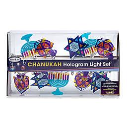 Chanukah Hologram 10-Light String Light Set
