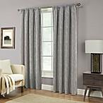 Pinehurst 84-Inch Rod Pocket Window Curtain Panel in Fog
