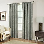 Pinehurst 84-Inch Rod Pocket Window Curtain Panel in Spa