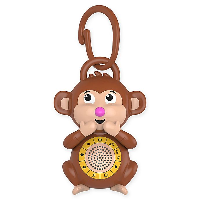 Big Red Rooster 174 Monkey Portable Baby Sound Machine Bed