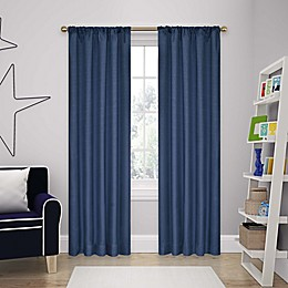 Eclipse Kendall Rod Pocket Room Darkening Window Curtain Panel and Valance