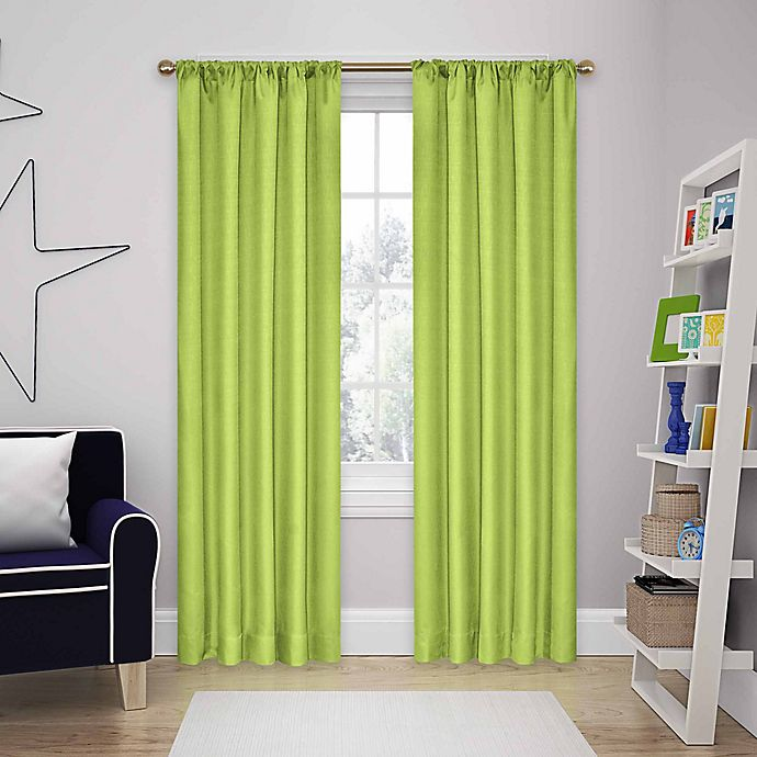 Alternate image 1 for SolarShield® Kate Rod Pocket Room Darkening Window Curtain Panel