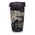 Tervis®  Game of Thrones  Stark  Winter is Here  16 oz. Wrap Tumbler with Lid