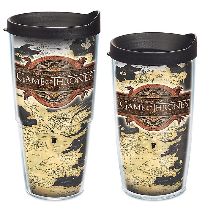 Tervis Game Of Thrones Westeros Map Wrap Tumbler With Lid Bed Bath Beyond