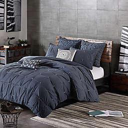 INK+IVY Masie 3-Piece Comforter Set in Creamy White