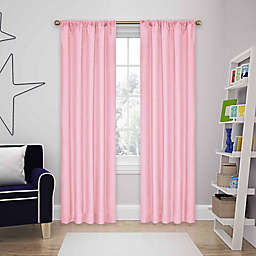 Eclipse Kendall 84-Inch Rod Pocket Room Darkening Window Curtain Panel in Bouquet
